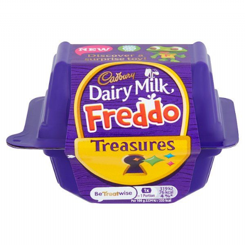 Cadbury Dairy Milk Freddo Treasures Chocolate with Toy 14g